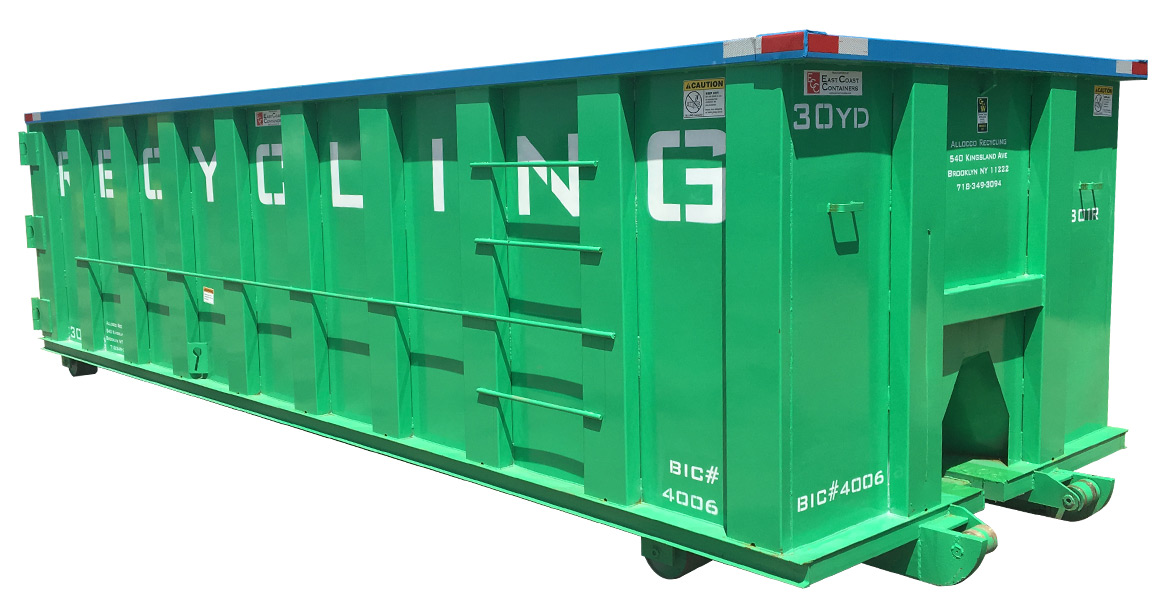 Allocco Recycling container